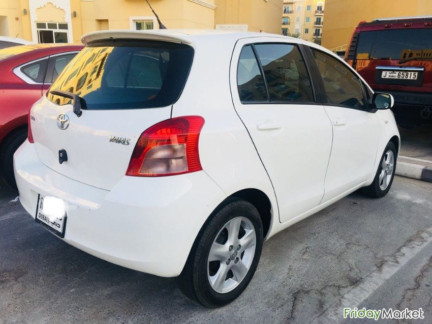 TOYOTA YARIS 2008, HATCHBACK, FULLY AUTOMATIC   Only 100300