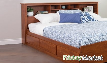Book Case Classic Bed Frame With Or Without Mattress   AtoZ Furniture Dubai  UAE