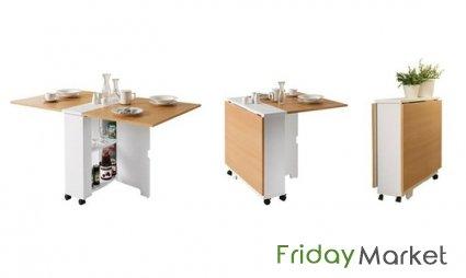 Beau Folding Dining Table In Choice Of Colour   A To Z Furniture Dubai Dubai UAE