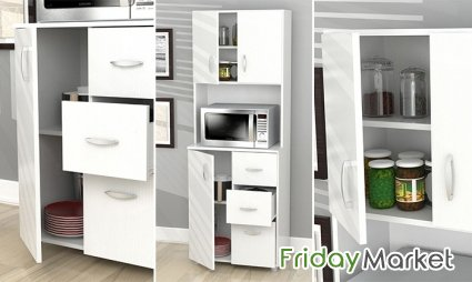 Tall Kitchen Storage Cabinet A To Z Furniture Dubai In Uae
