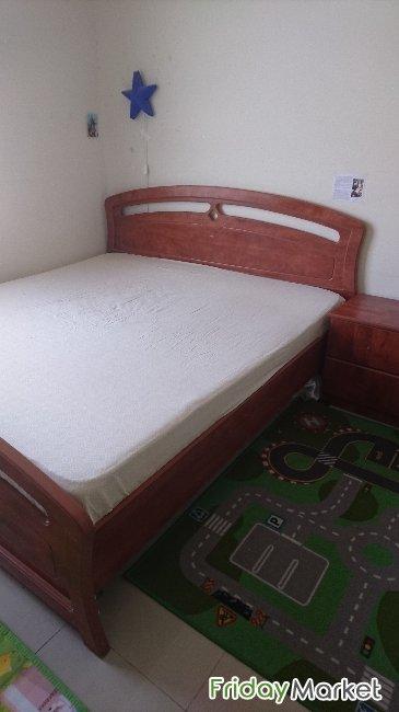 King Size Wooden Bed For Sale In Uae Fridaymarket