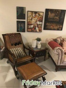 sofa leather lounge chair marina home interiors brand in uae