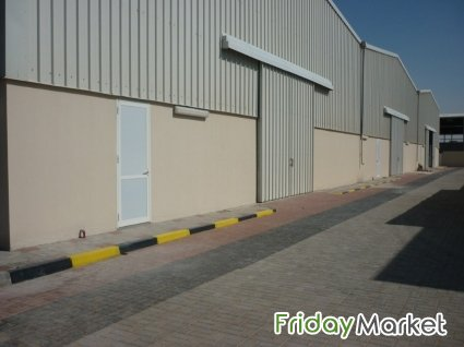 Warehouse For Rent - Mussafah Area Abu Dhabi UAE