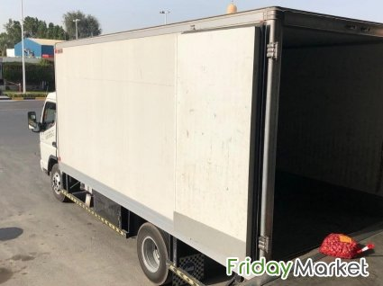 Mitsubishi Canter 2016 , 4.5 Long Chassis Freezer Dubai UAE