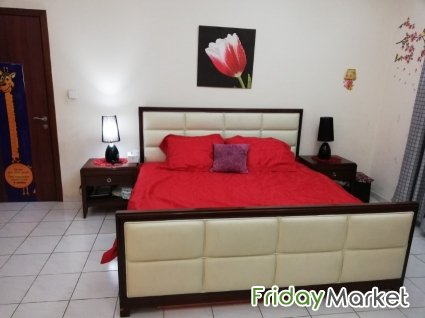 Big Furnished Master Bed Room Dubai UAE