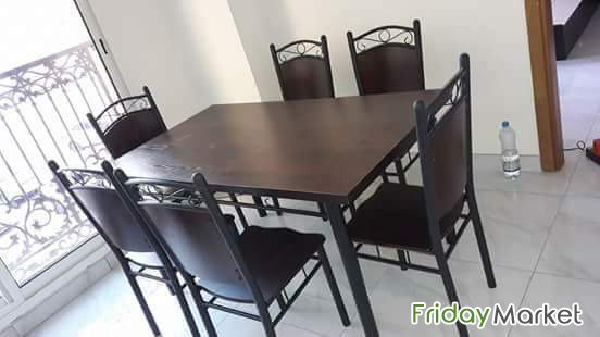 Selling Brand New 4 Chair And 6 Chair Dining Tables Dubai UAE