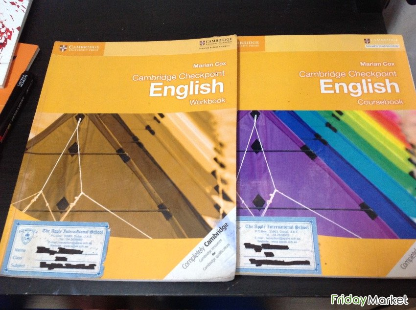 Complete Set Of Cambridge Secondary Text Books For Grade 7. Sharjah UAE