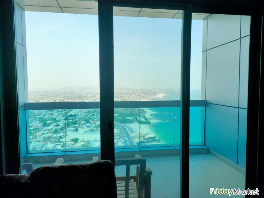 1BR Flat In Ajman Corniche Tower Ajman UAE