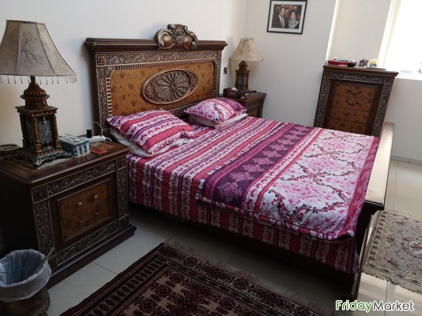 luxury bedroom set up for sale including everything! in