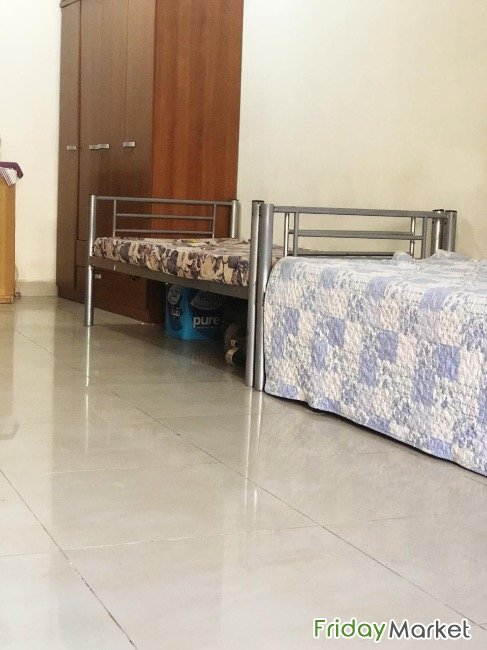 Beds Space In Spacious Flat Dubai UAE