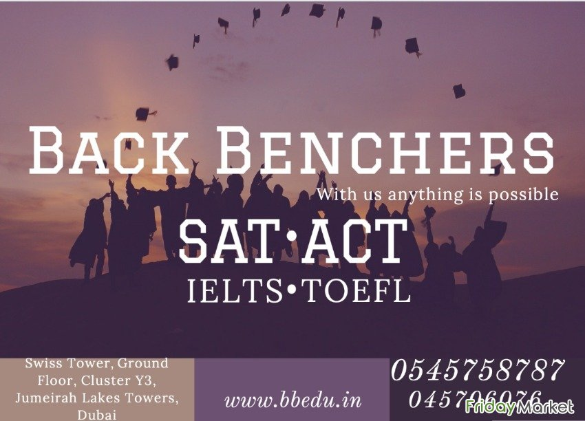 Back Benchers-- With Us Anything Is Possible Dubai UAE