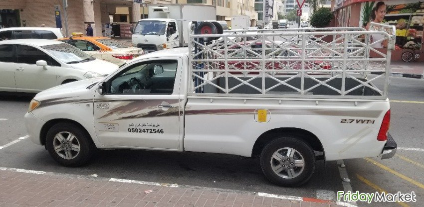 1 TON PICKUP FOR RENT IN THE PALM 0502472546 Dubai UAE
