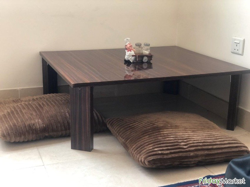 Low Seating Dining Table Sharjah UAE