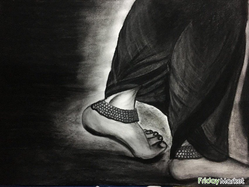 Charcoal Painting Sharjah UAE