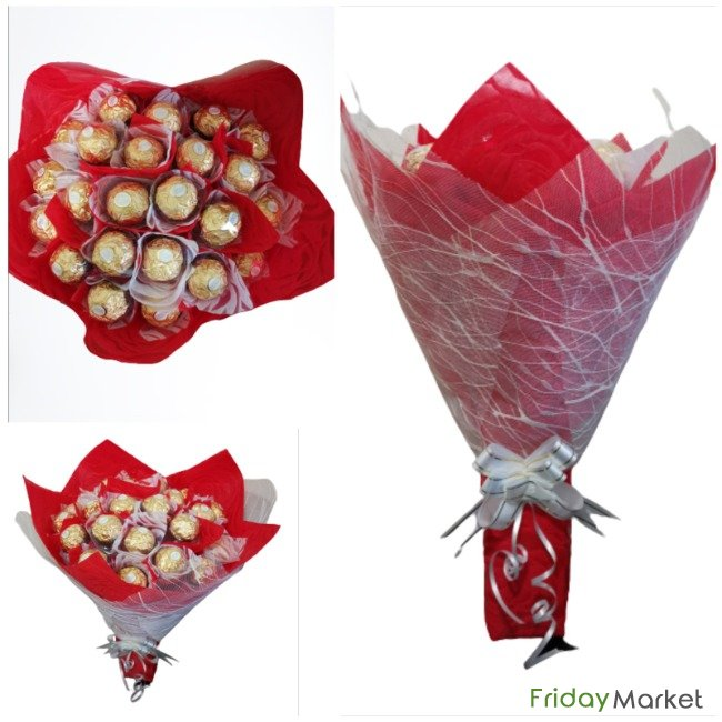 Chocolate Bouquet For All Occasions, With Free Delivery Sharjah UAE