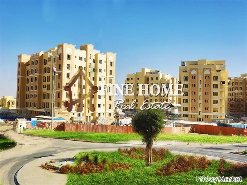 High ROI / 0 Commission/ 2BR W Balcony+Parking Abu Dhabi UAE