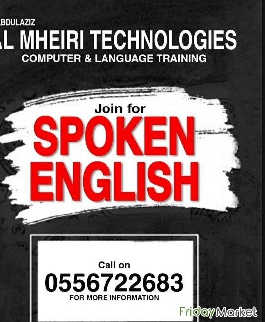 Institute For Spoken English/arabic/ French 0556722683 Dubai UAE