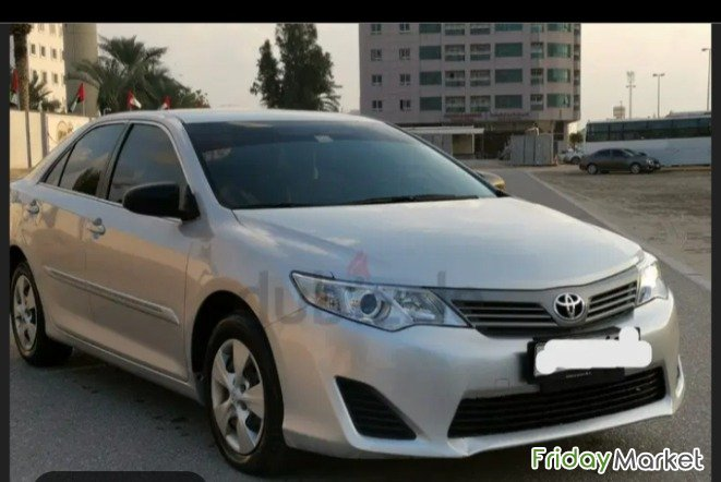 Toyota Camera 2013 Good Condition . First Come First Buy Sharjah UAE